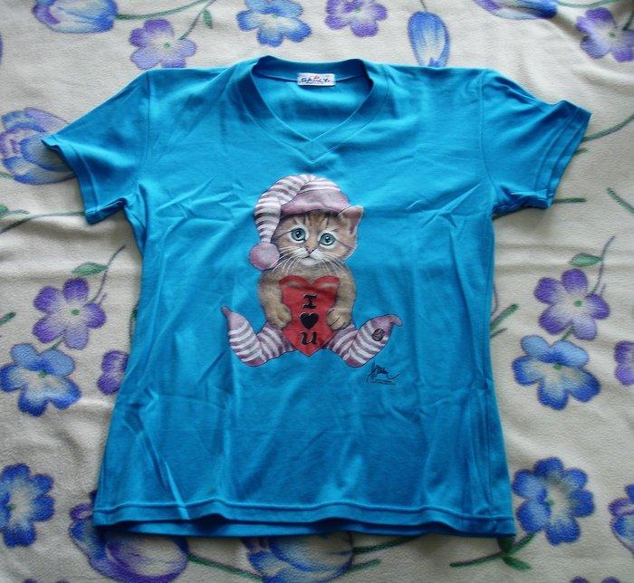 T恤-可愛小貓-加路立Galuly 短T恤--DSC03424