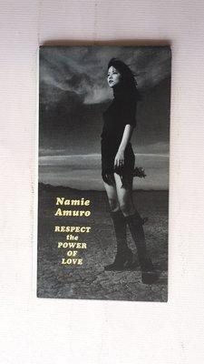 【鳳姐嚴選二手唱片】 安室奈美惠 Namie Amuro /  Respect The Power Of Love 單曲