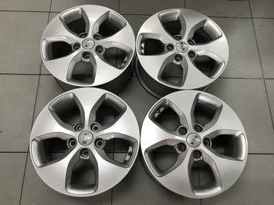 中古鋁圈 二手圈 原廠鋁圈 KIA 豐田 Carens 16吋鋁圈 5孔114.3 特價 1500 馬三 ELANTRA