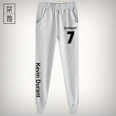 🔥KD杜蘭特Kevin Durant運動籃球長褲🔥NBA球衣籃網隊Nike耐克愛迪達健身訓練慢跑縮口純棉褲子男457