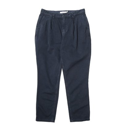 nonnative clerk ankle cut trousers relax fit 2號