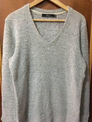 【全新】Decide V領毛衣 灰色 XL號