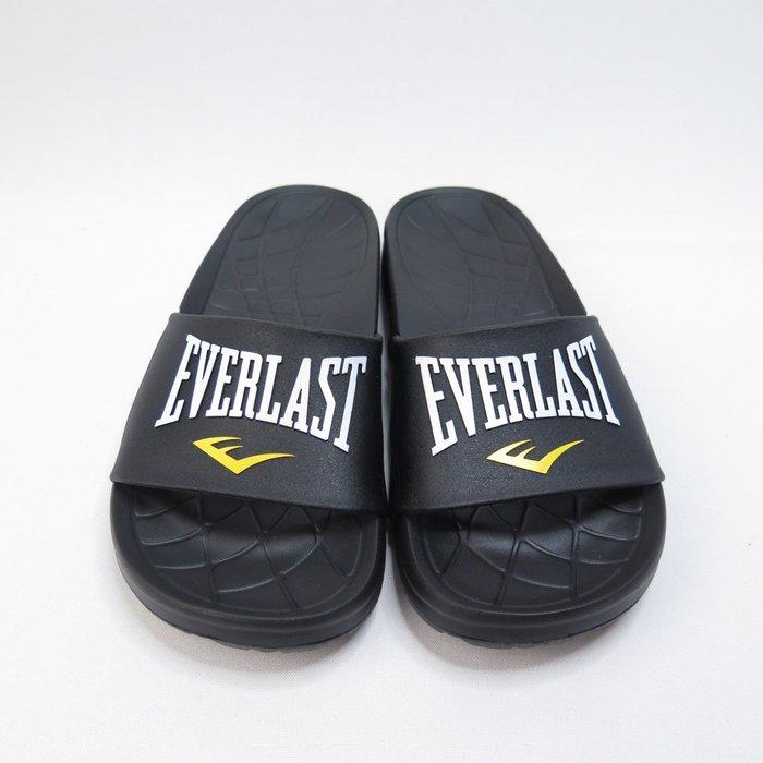 EVERLAST 拖鞋 男女款 4025220220 黑【iSport愛運動】