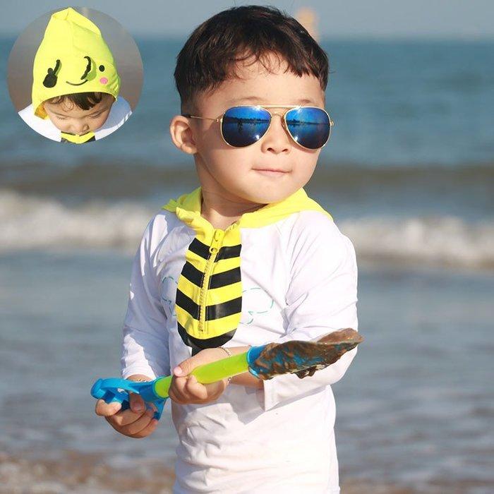 [泳漫]2003泳衣兒童泳衣泳褲潛水衣連身泳衣生男生男童泳裝嬰幼兒溫泉游泳衣防曬寶寶泳衣可愛兒童泳褲男童保暖連65
