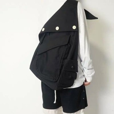 現貨秒發【特價】RAF  Organized Sling 男女綁帶大容量帆布斜垮單肩包後背包