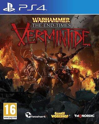 全新未拆 PS4 戰鎚:終結時刻 末日鼠疫 -英文版- Warhammer End Times Vermintide