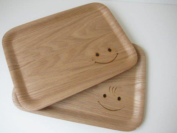 發現花園 日本選物 ~日本 k-ai  可愛  元氣笑顏 托盤 木茶盤- 男孩 boy