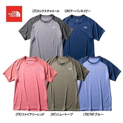 【Feather日本代購】日本限定 THE NORTH FACE 夏季 環保材質 T恤 NT12095北面 北臉(5色)