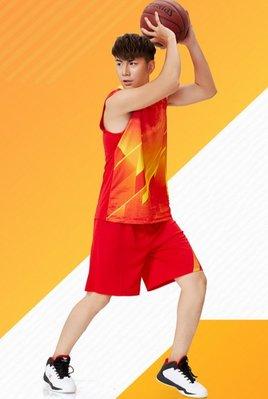 男裝籃球服套裝可訂制印字印號印LOGO組隊團購比賽服健身運動服