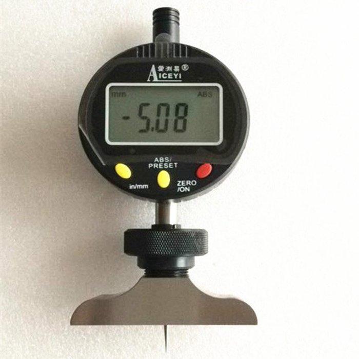 INPHIC-分析測量 數位顯示深度表線路板測孔規數位顯示深度計0-10MMX0.01MM深度規