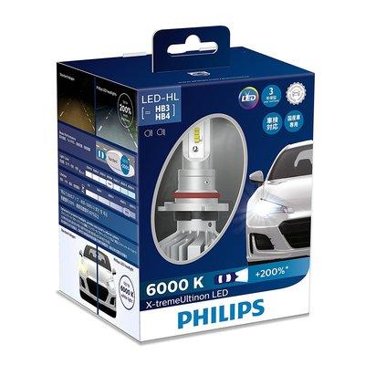【日輸正貨】Philips 9005 9006 LED 6000k 3520lm 大燈 一組兩顆 飛利浦