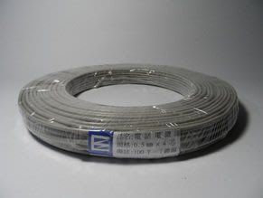 電話電纜線0.5mmx4芯   鍍錫  100Y