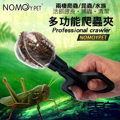 Y。。。青島水族。。。NFF-10中國NOMO諾摩-多功能爬蟲夾 餵食夾子 夾便器 捕蟲 活餌 麵包蟲 兩棲蜥蜴守宮