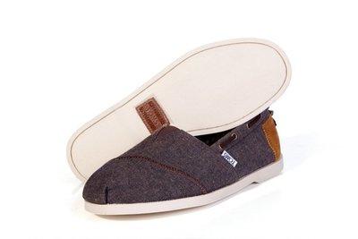 Toms Nautical Bimini Boat Shoes咖啡色懶人鞋