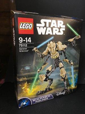 B-5 櫃 現狀品 : LEGO STAR WARS 75112 樂高 星際大戰 葛里維斯  天富玩具店