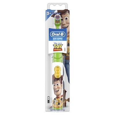 Oral-B 歐樂B  兒童電池式電動牙刷 玩具總動員