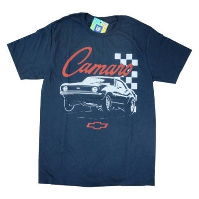 (I LOVE樂多)美國進口 CAMARO 雪佛蘭 汽車圖像仿舊印刷 短T 數量不多 請把握