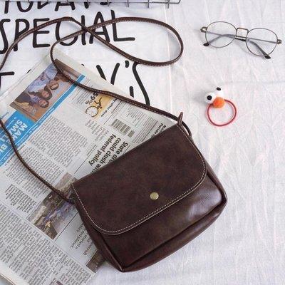 ☜男神閣☞手機小包包軟皮小包包復古包   韓國斜背包復古小方包迷你小挎包手機包 女包