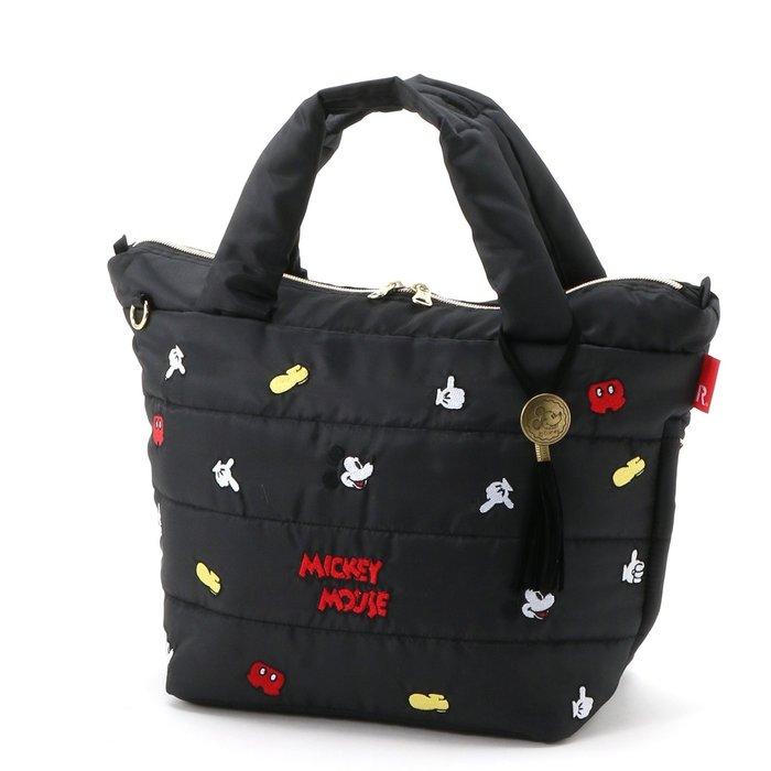 迪士尼DISNEY x ROOTOTE《預購》米奇刺繡手提包~日本正品~共4款~心心小舖