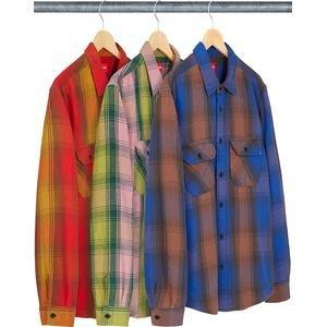 【紐約范特西】代購 SUPREME FW19 Heavyweight Flannel Shirt 格子 襯衫
