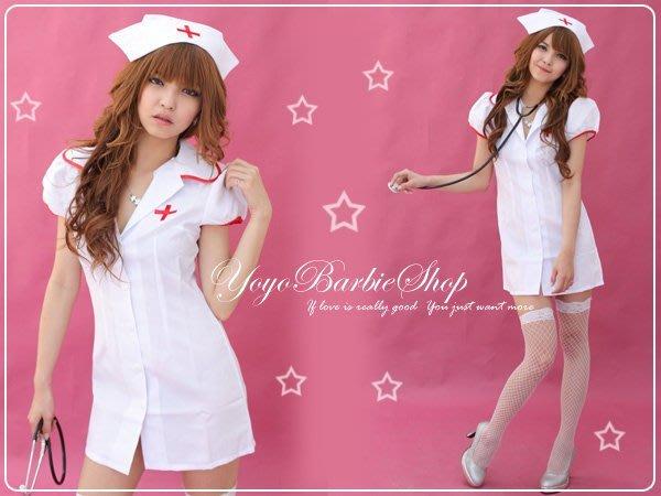 【YOYO芭比小舖】G-924 甜蜜佳人護士服-專賣賽車服.護士服.辣妹裝.學生服.和服