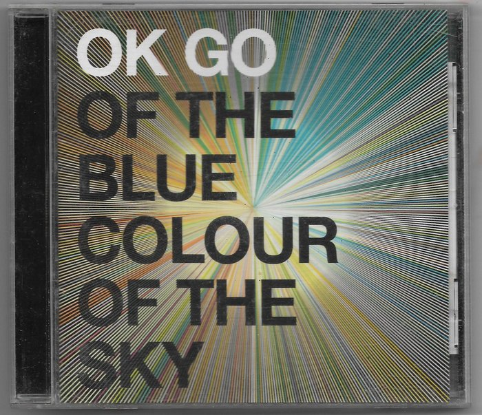 OK GO / OF THE BLUE  COLOUR OF THE SKY / 二手 / 附側標