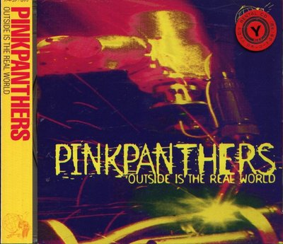 K - PINKPANTHERS - OUTSIDE IS THE REAL WORLD - 日版CD+OBI