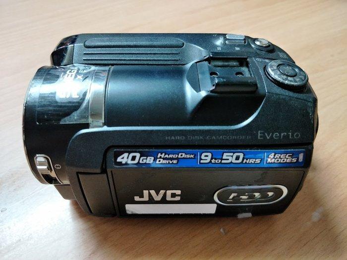 ☆手機寶藏點☆ JVC GZ-MG575TW 硬碟式攝影機 零件機 故障 報帳繳回 Che A6