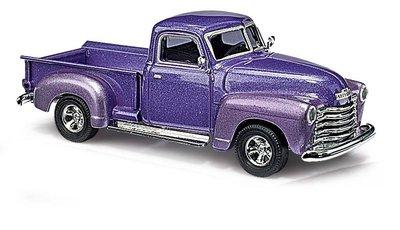 傑仲 (有發票) 博蘭 公司貨 BUSCH 模型車 Chevr. Pick-up 48233 HO