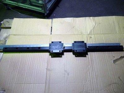 NSK 型號 LH30 黑鋼 長度84公分  螺桿   滑軌( 滾珠螺桿 滑台 線性滑軌  定位控制器 伺服馬達 )