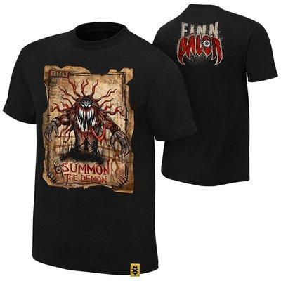 ☆阿Su倉庫☆WWE摔角 Finn Balor Summon The Demon T-Shirt 召喚惡魔最新款 熱賣中