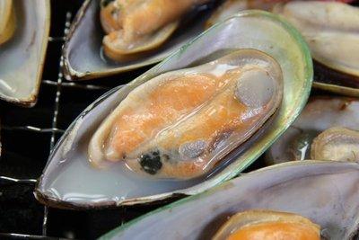 【中秋烤肉食材】紐西蘭半殼淡菜 / (12~13個)/孔雀蛤/貽貝/約400g分享包 ~鮮美的滋味~