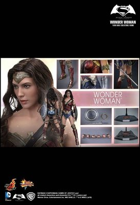 全新 Hottoys Hot Toys Wonder Woman 神奇女俠 MMS359 BVS Batman v Superman