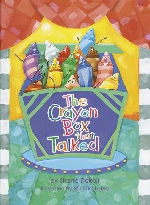 詩軒音像現貨 英文原裝The Crayon Box That Talked 兒童圖書 早教-dp010