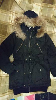 韓版黑色大外套N3B.SLY類似款