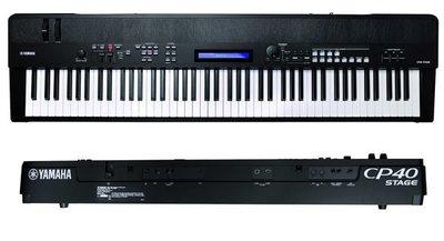 造韻樂器音響- JU-MUSIC - Yamaha CP-40 CP40 88鍵 合成器 舞台演奏 電鋼琴 數位鋼琴 另有 Roland