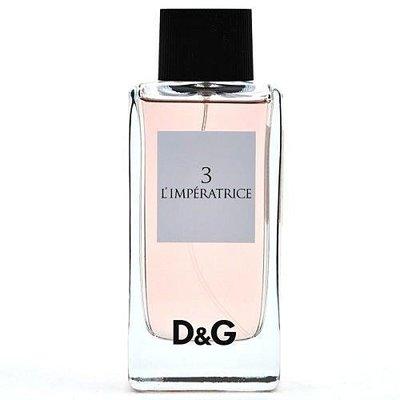《尋香小站 》Dolce & Gabbana D&G 3 L'Impratrice  卓絕群倫淡香水100ml