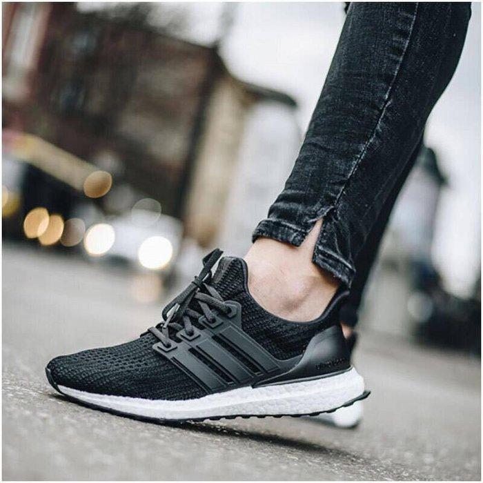 (老夫子)adidas Ultra Boost 4.0 Core Black(BB6149)潮流時尚慢跑運動鞋男女