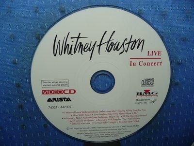 [無殼光碟]KH Whitney Houston LIVE IN CONCERT VCD
