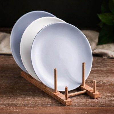 玻璃杯 馬克杯 牛奶杯 咖啡杯 水杯木質碗盤架 碗碟架瀝水架廚房置物架日式杯架zakka創意廚具收納架