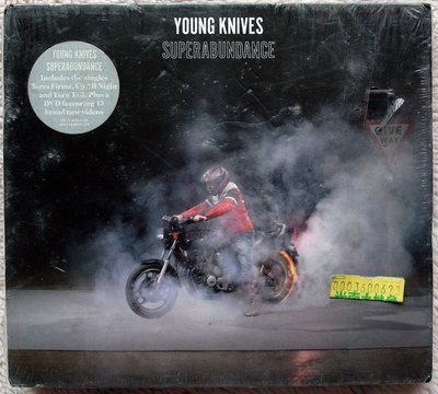 ◎2008全新CD+DVD未拆!進口版-青春小刀樂團-The Young Knives-SUPERABUNDANCE-等