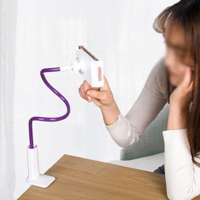 Color_me【P605】懶人手機支架 懶人手機支架 手機架 平板夾 手機支架 床頭架 手機夾 桌面 通用 萬能支撐架