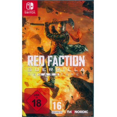 (現貨全新) NS SWITCH 赤色戰線:游擊戰隊 重製版 中英日文歐版 Red Faction Guerilla