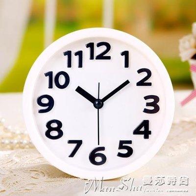 鬧鐘創意靜音鬧鐘懶人學生兒童小鬧鐘鬧表臥室床頭電子時鐘座鐘