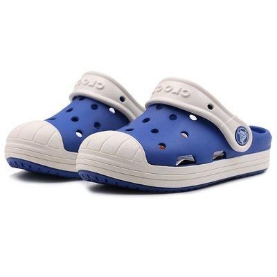 涼鞋Crocs卡洛馳男女童鞋新款防衛兵小克駱格平底鞋洞洞鞋202282拖鞋