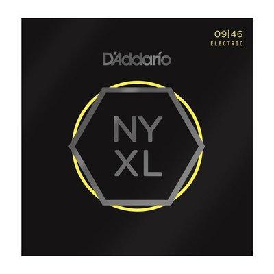 ☆唐尼樂器︵☆美國製公司貨 Daddario NYXL0946 (09-46) Nickel Wound 電吉他套弦