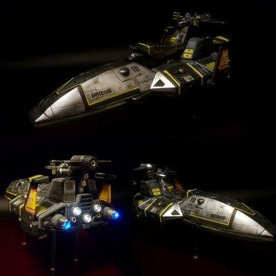 超人迪加戰艦(自家改製)模型