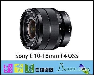 彩色鳥 (鏡頭出租 租鏡頭 相機出租) Sony SEL1018,E 10-18mm F4 OSS for NEX 超廣 台北市