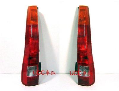 【UCC車趴】HONDA 本田 CR-V 2代 03-04 CRV 二代 原廠型 紅黃尾燈 一組3600 TYC製品