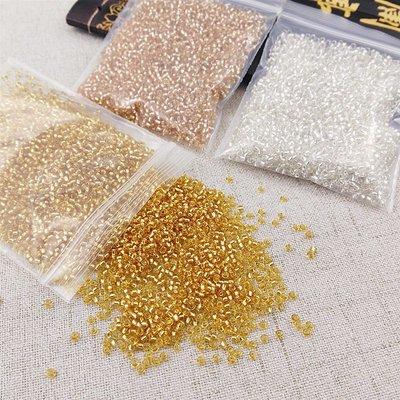 特價飾品-玻璃米珠手鏈配件 十字繡小米珠服裝包包鞋子DIY玻璃珠散珠飾品材(200元起購)